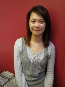 Cindy - newly qualified Junior Stylist!