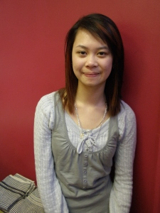 Cindy - newly qualified Junior Stylist!