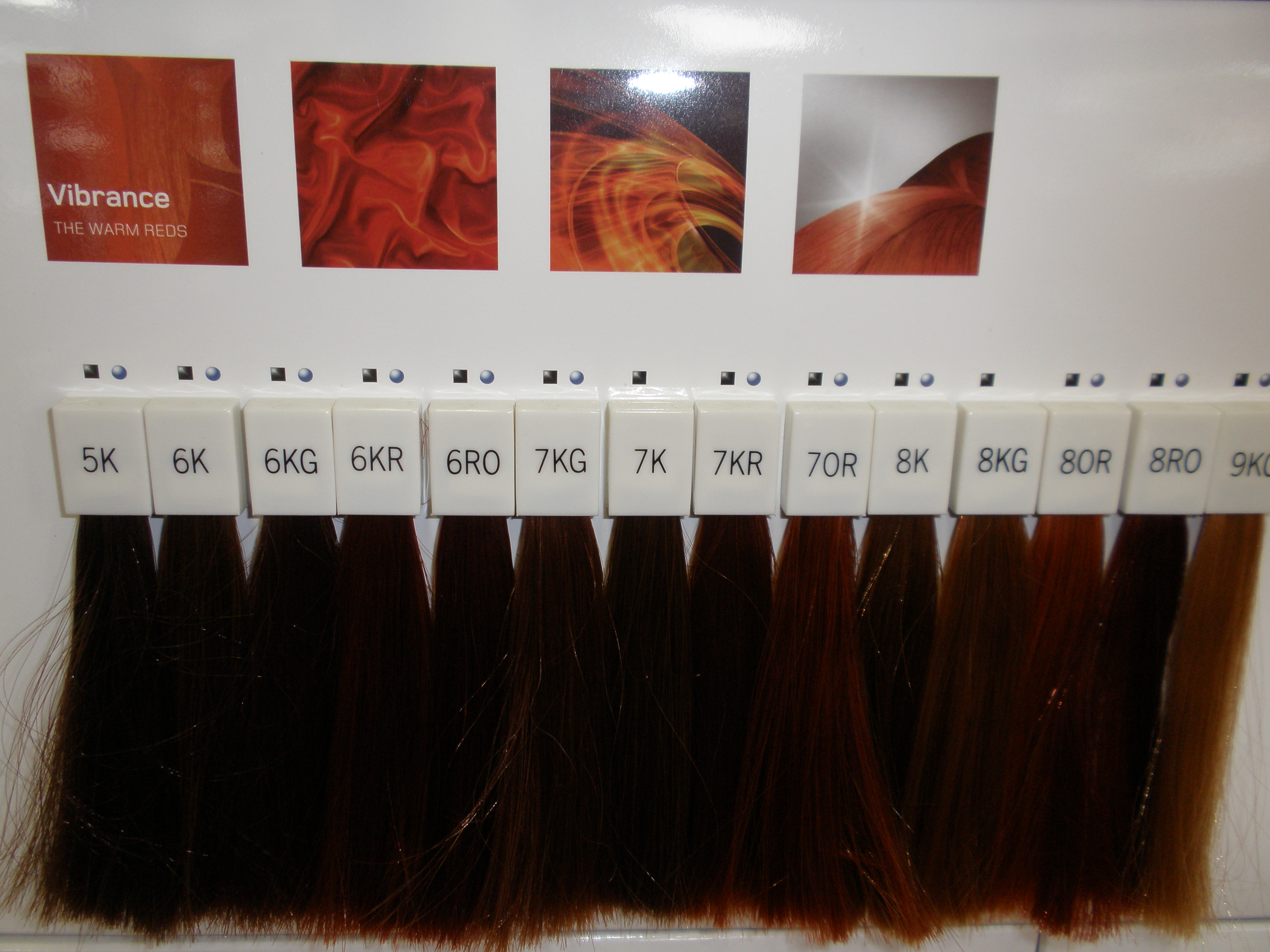 Goldwell Hair Color Swatches